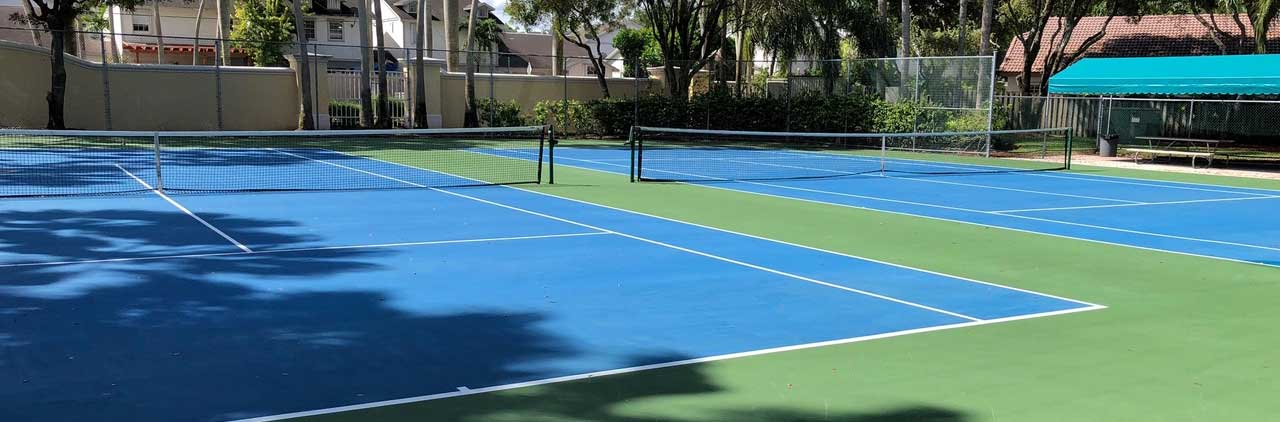 Tennis Courts at Bonita Lakes